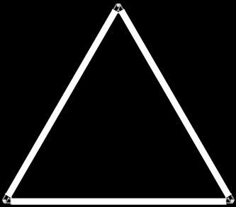 Triangle Rod Kinetic Lights
